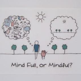 Vær opmærksom på dine tanker